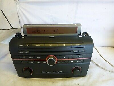 $60 • Buy 2004 2005 Mazda 3 Factory Bose Radio 6 Disc Cd Player BR9A669RX VII65