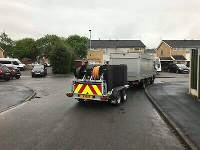 Trailer Mounted Hot Pressure Washer • 18,000£