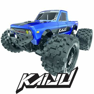 Redcat Racing Kaiju 1/8 Scale Brushless Electric Monster Truck RTR 6S Blue • 286.22£