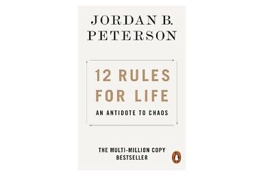 AU16.99 • Buy 12 Rules For Life: An Antidote To Chaos By Jordan B Peterson (English) Paperback