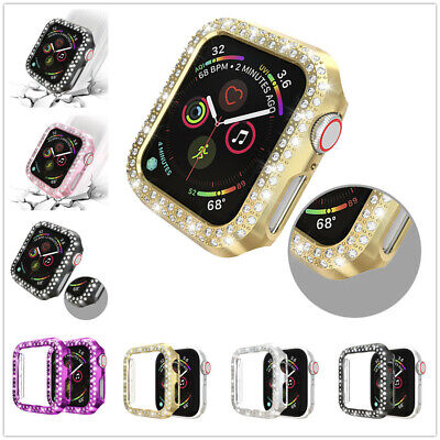 $ CDN4.66 • Buy Bling Protective Face Bumper Case Cover For Apple Watch 38/42mm Series 1/2/3/4/5