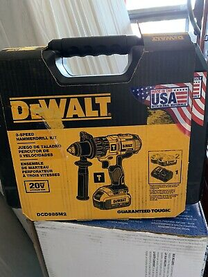$259 • Buy New DeWalt DCD985M2 20V MAX Hammer Drill Kit. 2 Batteries Included
