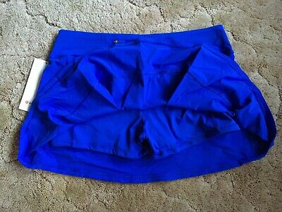$ CDN139.99 • Buy Lululemon Pace Rival Skirt Tall Cerulean Blue 2T 4T 6T 8T 10T