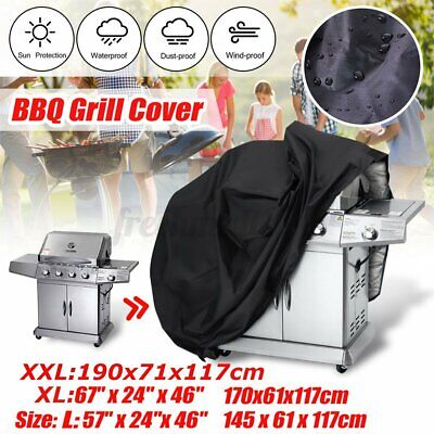 AU16.99 • Buy BBQ Grill Cover 2/4/6 Burner Outdoor Waterproof Gas Charcoal Barbecue Protector
