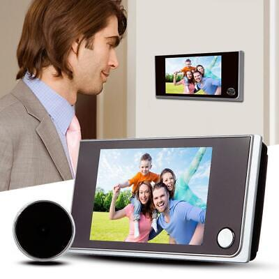 3.5  Video Doorbell LCD Peephole Viewer Door Ring Intercom Camera Security Bell • 25.99£