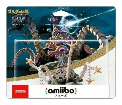AU85.90 • Buy Limited Offer Nintendo Amiibo Guardian The Legend Of Zelda Breath Of Wild Switch