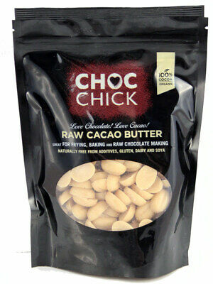 £9.99 • Buy Choc Chick Raw Cacao Butter Buttons 250g