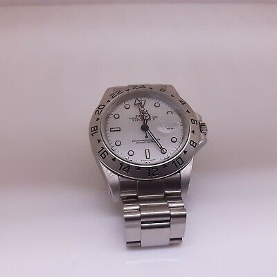 $ CDN9049.53 • Buy Rolex Explorer II Steel 40 Mm White Polar Dial Watch 16570 Series A Circa 1999