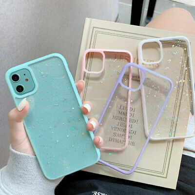AU11.92 • Buy Shockproof Bling Glitter Case Slim Cover For IPhone 11 Pro XS Max SE XR 7 8 Plus