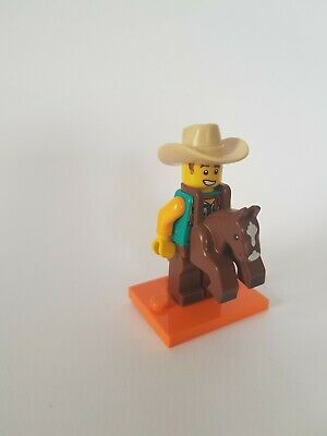 LEGO Minifigures Series 18 Anniversary Edition 71021 Cowboy On Horse Costume Guy • 5£