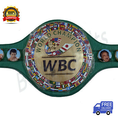 $ CDN204.45 • Buy WBC World Boxing Championship Replica Belt Adult Size Green Special Price