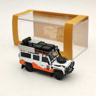 1:64 Land Rover Defender 110 Diecast Models Toys Car Mountain Version Master • 24.50£