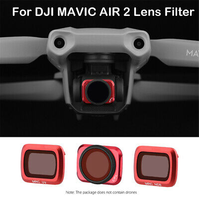 AU25.77 • Buy Professional For DJI Mavic Air 2 Drone Camera Polarized Lens Filter UV CPL ND8
