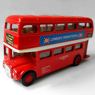 $ CDN23.95 • Buy London's Premier Tour Company Diecast Red Double Decker Bus By Welly