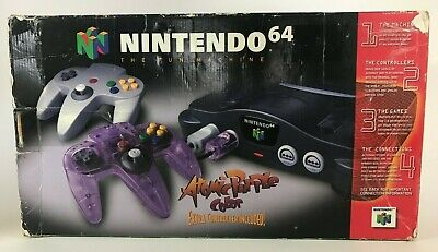 $ CDN100.35 • Buy Nintendo 64 N64 Atomic Purple Game Console System Replacement Box & Foam ONLY