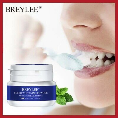 Teeth Whitening Powder Toothpaste Hygiene Toothbrush Gel Remove Plaque Stains • 5.78£