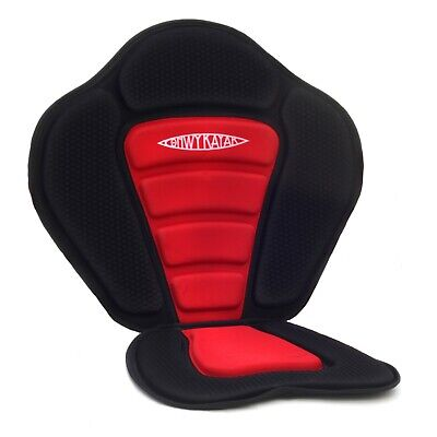 £29.99 • Buy Conwy Kayak Deluxe Seat Sit On Top Kayak Back Rest Canoe Padded Adjustable Red