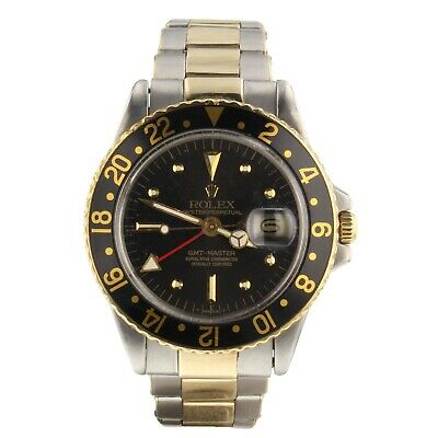 $ CDN17641.37 • Buy Rolex GMT Master Two Tone Steel And 18K Gold 40 Mm Automatic Watch 1675