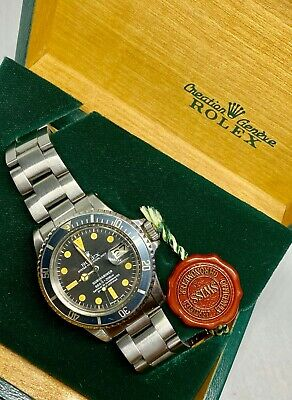 $ CDN16447.50 • Buy Rolex Submariner Vintage Watch Men's  1680 Automatic 1570 Movement