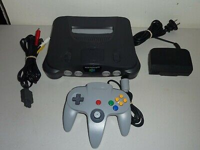 AU220 • Buy Nintendo 64 Console N64 With Genuine Controller Power And Av Cable Refurbished
