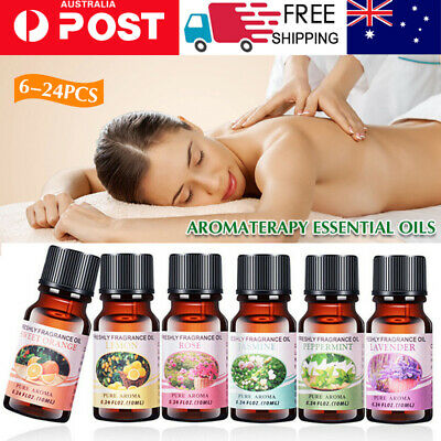 AU8.99 • Buy 6/24x Essential Oils 100% Pure & Natural Aromatherapy Diffuser Essential Oil Set