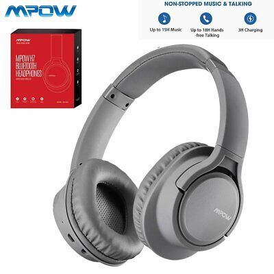AU49.99 • Buy Mpow H7 Bluetooth Wireless Headphones Noise Cancelling Over Ear Headset