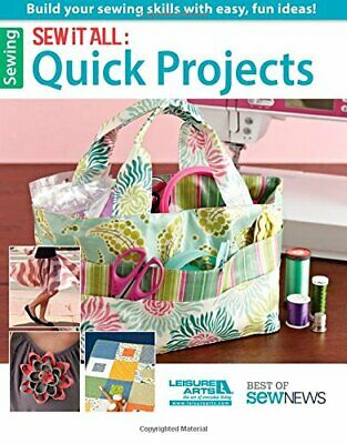 Sew It All: Quick Projects (Best Of Sew News) By Crafts Media LLC Book The Cheap • 6.49£