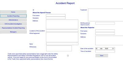 Accident Report Book Software • 11.90£