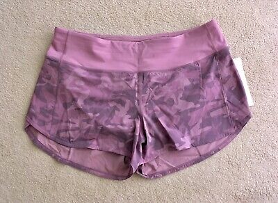 "$ CDN124.99 • Buy Lululemon Speed Up Short 2.5"" Incognito Camo Pink Taupe Multi 2 4 6 8 10 12 14"