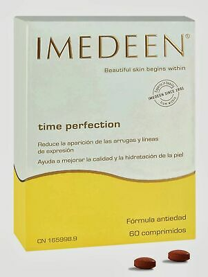 IMEDEEN TIME PERFECTION 60 Tablets, 1 Month Suppy  Free Shipping • 47.56£