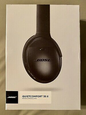 $ CDN54.28 • Buy BOSE QUIETCOMFORT 35 II (QC35 II) BOX ONLY (No Headphones) W/OEM Manuals - Black