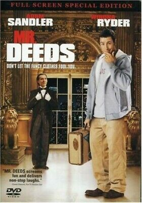 $4.99 • Buy Mr. Deeds (Full Screen Special Edition) -  EACH DVD $2 BUY AT LEAST 4
