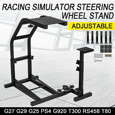 Racing Steering Wheel Stand Simulator Gt Gaming For Ps4 Logitech G29 G920 T300s • 40.50£
