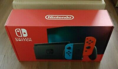 $ CDN459.95 • Buy Nintendo Switch Console With Neon Red And Blue Joy-Con *1 DAY SHIPPING*