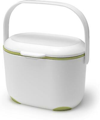 Mini Food Waste Bin Addis Kitchen Compost Caddy Small Removable Lid 2.5 L • 10.20£