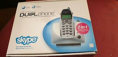 USB Cordless Dualphone, Can Be Used For Skype Calls. • 20£