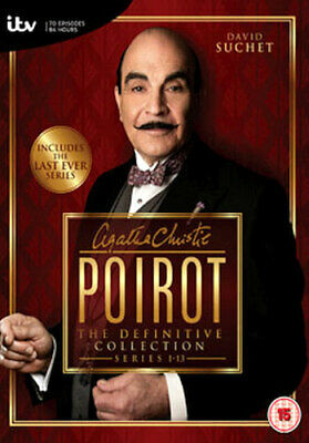 Agatha Christie - Poirot Series 1 To 13 Complete Collection Dvd [uk] New Dvd • 118.06£