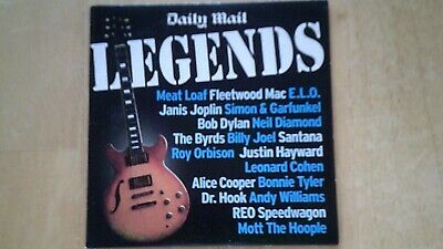Legends The Daily Mail  CD • 1.69£