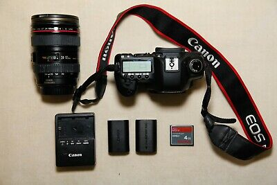 $ CDN1409.62 • Buy Canon EOS 5D (CLEAN!!)  Mark II 21.1 MP Digital SLR Camera + 24-105mm