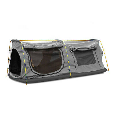 AU249.99 • Buy Mountview King Single Swag Camping Swags Canvas Dome Tent Hiking Mattress Grey