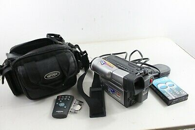 $ CDN87.26 • Buy Samsung SCL710 Hi8 8mm Camcorder With Power Cord & Bag Case