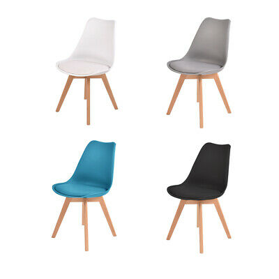 AU169.99 • Buy 2/4x Levede Retro Leather Dining Chairs Home Office Cafe Lounge Seat Chair
