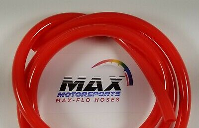 $1.95 • Buy BRITE RED FUEL LINE GAS HOSE 1/4  ID X 3/8  OD 100% Ethanol ORDER BY THE FOOT