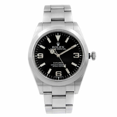 $ CDN10963.81 • Buy Rolex  Explorer 214270 Black Dial Stainless Steel Automatic Mens Watch