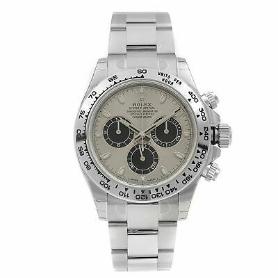 $ CDN54604.38 • Buy Rolex Cosmograph Daytona Silver Dial 18k White Gold Mens Watch 116509-0072