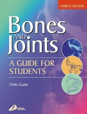 Bones And Joints: A Guide For Students By Chris Gunn Paperback Book The Cheap • 18.09£