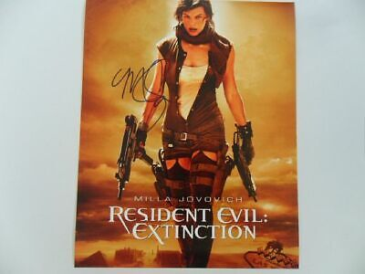 $20.78 • Buy Milla Jovovich - The Final Chap 8x10 Photograph Signed Autographed Free Shipping