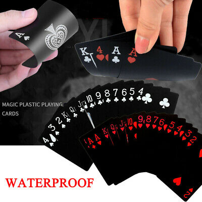 Waterproof Plastic Playing Cards Deck Of PVC Poker Card Creative Party Game Gift • 3.40£