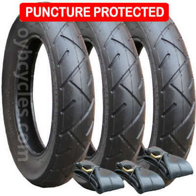 £49.95 • Buy Set Of Tyres & Tubes For Quinny Freestyle Pushchairs Puncture Protected