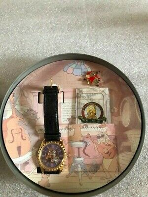 $45.95 • Buy Disney Aristocats Watch Collector Club Series By Fossil W/ Tin & Pin